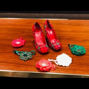 Heritage Plaid Shoes-Size 8